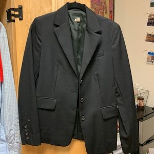 J.Crew black blazer, like new